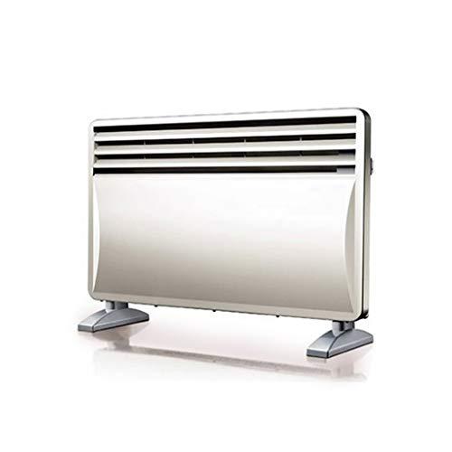 JCX 2000 W Elektrische wandverwarmingspaneel, bad safe, elektrische radiator, vrijstaand, Low Energy voor thuis, thermostaat met wasrek