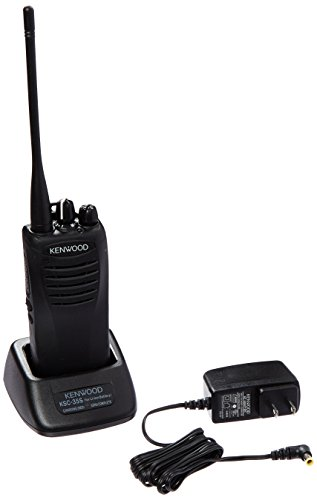 Kenwood TK-3400U16P ProTalk 16 Channel Compact UHF FM 2-Watts Portable Two-Way Radio, Wireless Cloning, 90 UHF Pre-Programmed Banked Frequencies, Range Up To 6 Miles, QT/DQT Encode/Decode