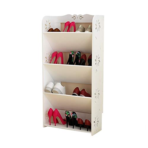 YIXIN2013SHOP Zapatero Rack de Zapatos Simple de 4 Capas, gabinete de Zapatos for el hogar, Estante de Almacenamiento Multifuncional for el hogar Estante para Zapatos