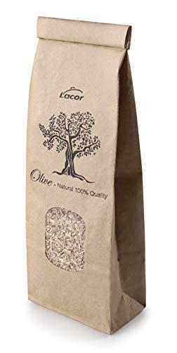 LACOR 69550 Ahumador de Alimentos, Serrín para Ahumar, Madera, 100% Natural, Olivo: Aporta un Sabor Suave y Aromático, 100gr