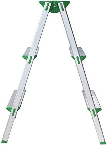 BECCYYLY Taburete de Escalera General Perfil 3-Escalera Plegable del hogar Escalera Plegable Minum aleación 4 Escalera Plegable Paso s Espesar Climb Cubierta La Escalera Escalera