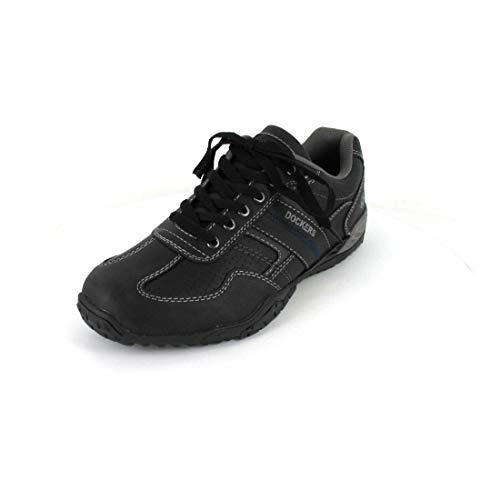 Dockers by Gerli heren sneaker zwart, bruin, grijs, wit, natuur