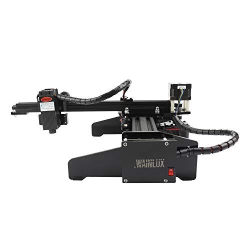 """WAINLUX JL4 Laser Engraver, Powerful Desktop Laser Engraving Machine, Supports Win, Mac & Mobile WiFi Connection, Laser Marking Machine Etching Range 5.51""""×5.12"""", DIY Logo Design (7W)"""