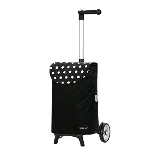 Andersen Shopper Unus Fun und 40 Liter Tasche Elba schwarz