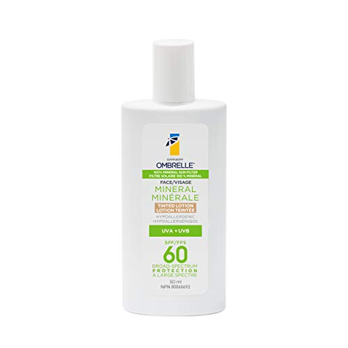 Ombrelle Ultra Light Advanced Tinted Face Sunscreen Protection Lotion - SPF60-50ml