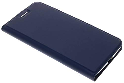 Dux Ducis - Case for Motorola Moto Z2 Force - Ultra Slim PU Leather Flip Folio Case with Magnetic Closure - Blue