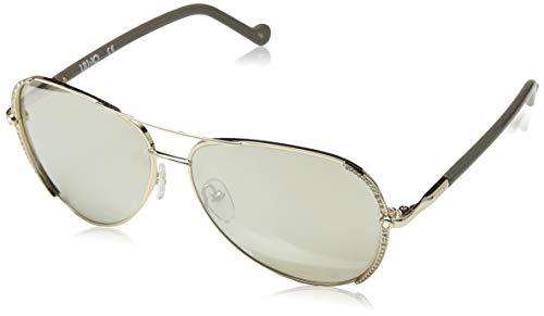 Liu Jo LJ102SR 714 59 Gafas de sol, Golden Beauty, Mujer