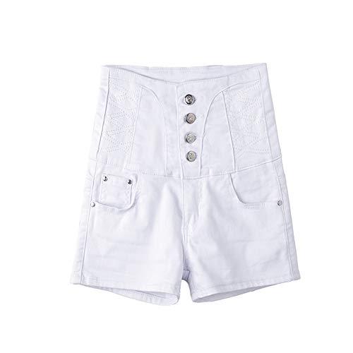 DDDXXX Womens Juniors Denim Shorts Hoge Taille Ripped Gat Gewassen Distressed Korte Jeans