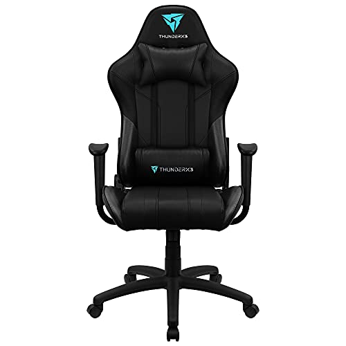 ThunderX3 EC3, siilla gaming tecnología AIR, reclinable, cojín lumbar, negro