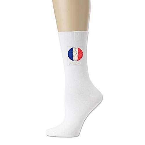 Cotton Socks for Men and Women France Football Soccer Novelty Sock Unisex