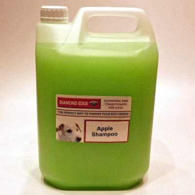 Diamond Edge Apple Shampooing de toilettage pour chien 5 l