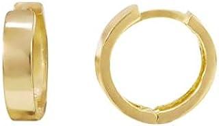 Brinco Argola 9 mm de Ouro 18k