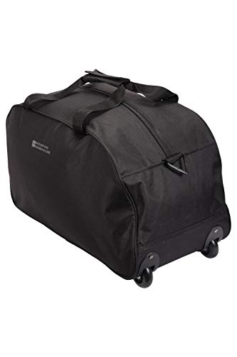 Mountain Warehouse Bolsa Plegable con Ruedas de 40 L - Maleta Ligera,...