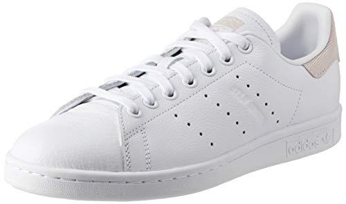 adidas Damen Stan Smith Fitnessschuhe, Weiß (Ftwbla/Ftwbla/Tinorc 0), 38 EU
