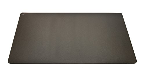 "Pizzacraft PC0313 Rectangular Steel Baking Plate for Oven or BBQ Grill, 22"" x 14"""