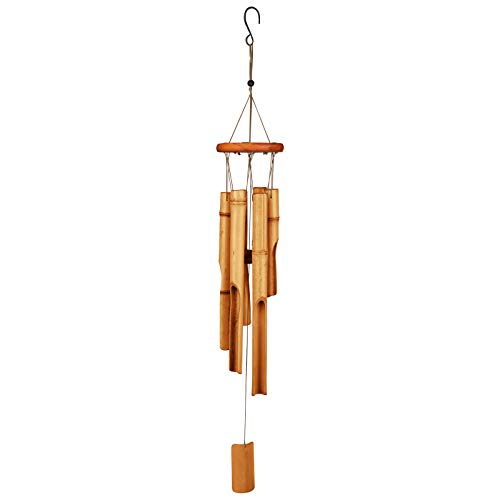 Bamboo Wind Chimes30#039#039 Wooden Wind Chimes for Outdoor amp IndoorGarden YarkPatio and Home Décor 30quot