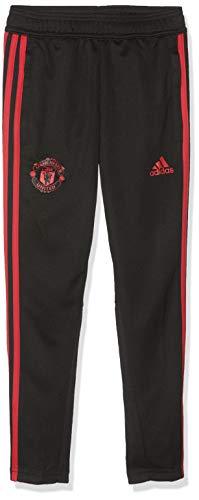 adidas Manchester United Training Pant, Pantaloni Sportivi Bambini e Ragazzi, Nero/Blaze Red/Core Pink, 11-12