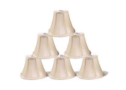 Urbanest Chandelier Lamp Shades, Set of 6, Soft Bell 3
