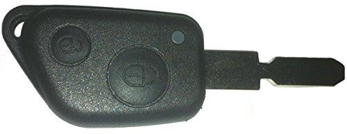 KLEMAX Coque de clé Adaptable pour Peugeot 406, Peugeot 607 référence: PSA28C