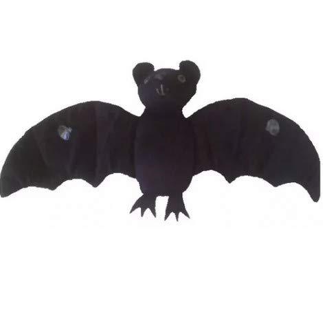 Morcego de Pelúcia 20 Preto cm Antialérgico