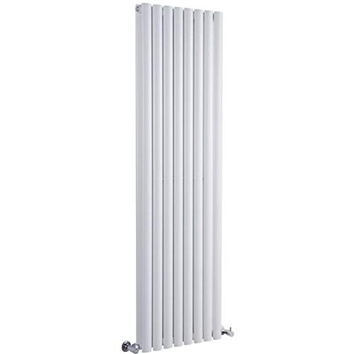 Milano Radiador de Diseño Revive Vertical - Blanco - 1868W - 1780 x 472mm