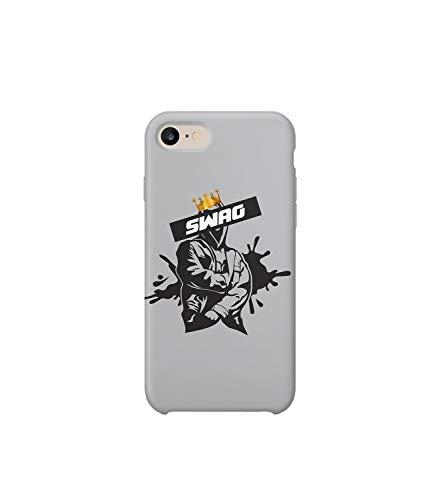Funda protectora de plástico duro para teléfono inteligente con diseño de jugador de baloncesto King James_MRZ0155, divertida para iPhone 6 Plus