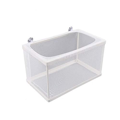 Saim Ablaichkasten,Laichkasten mit 4 Saugnäpfe,Aquarium laichbecken/aufzuchtbox/Aufzuchtbehälter,Babyfische Zuchtbecken/Aufzuchtbecken
