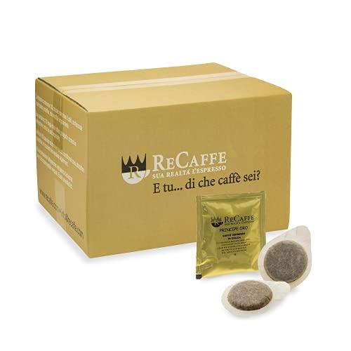 RECAFFE - ESE 44 vaina, paquete de 150 vainas envueltas individualmente Principe Oro suave y cremoso