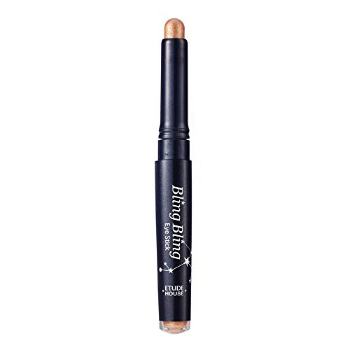 ETUDE HOUSE Bling Bling Eye Stick (#8 Ivory Babystar) Long-Lasting Eye Shadow Stick with Blinding Glow and Soft Creamy Texture for Shining Eyes