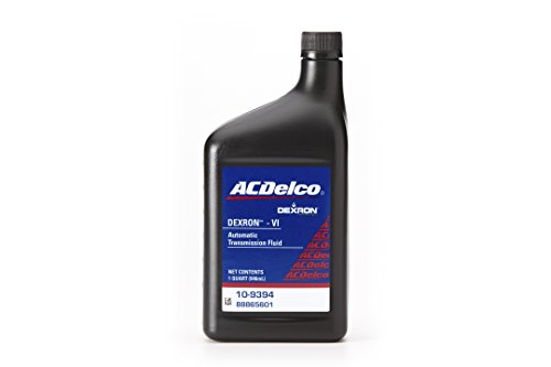 ACDelco GM Original Equipment 10-9394 Dexron VI Automatic Transmission Fluid - 1 qt