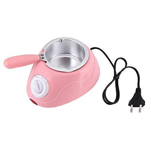 Melting Pot - Elektro-Praline Melting Pot Melter Maschine Nettes Praktisches Küchenwerkzeug mit Mini DIY Mold Set Schokoladen-Schmelztiegel (Farbe : Rosa)