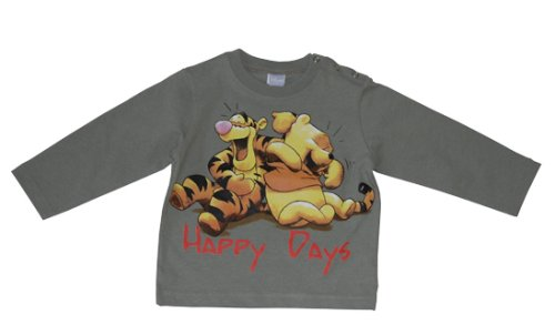 Disney 99343 – Winnie l'Ourson/Tigrou T-shirt, Couleur : Grn