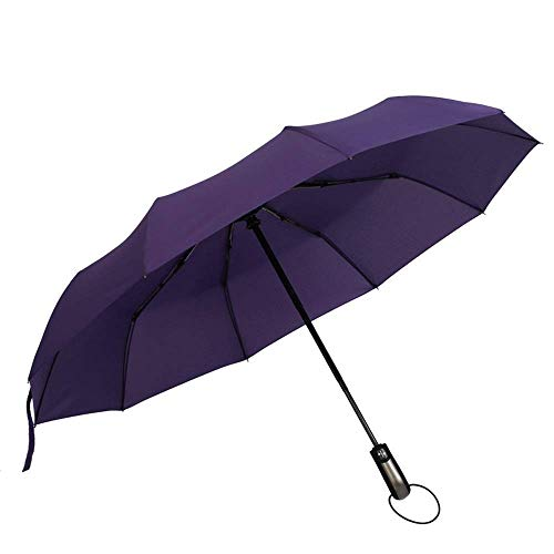 Umbrella Travel Umbrella Umberllas Travel Umbrella with Teflon Coating Auto Open Close Lightweight Sun&Rain Umbrella