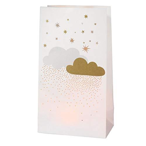 Räder design boîte en forme de nuage à étoiles lot de 2