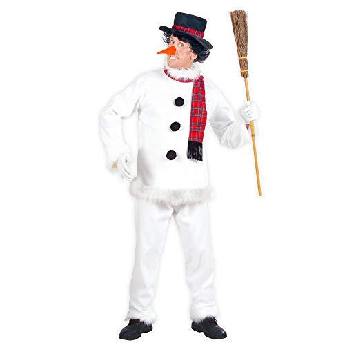 Widmann - Cs925782/m - Costume Bonhomme de Neige Taille M