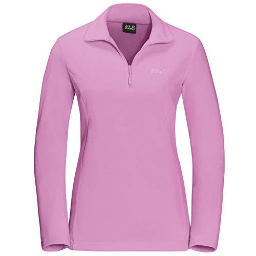 Jack Wolfskin Damen Gecko Pullover, pink Tulip, L