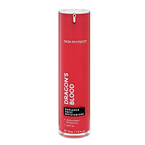 Dragon's Blood Radiance crema hidratante diaria Spf15. Anti envejecimiento Anti arrugas con la defensa solar ¡Deja la piel suave y traen vida y resplandor a tu cara! 50ml