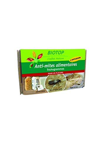 Biotop - Trichogrammes anti-mites alimentaires