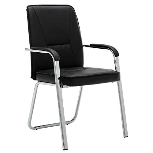 vidaXL Bürostuhl mit Armlehne Besucherstuhl Konferenzstuhl Schreibtischstuhl Büromöbel Sessel...