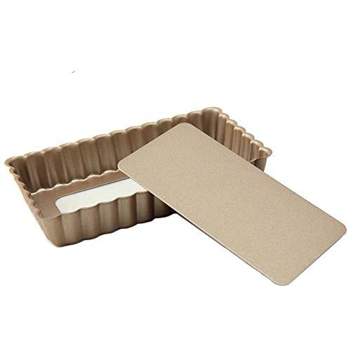 Molde para tartaletas o Mini Quiche (1 Unidades, 12cm, antiadherentes, Base extraíble)