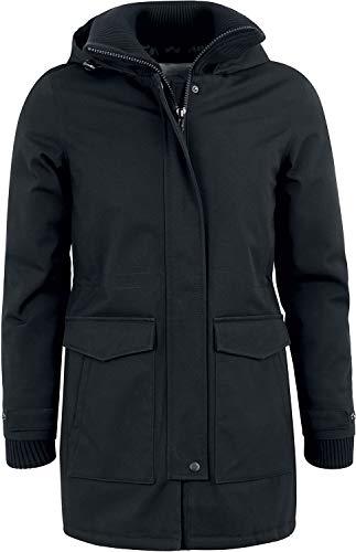 FORVERT Jackets Aniak Frauen Winterjacke schwarz M 100% Baumwolle Basics