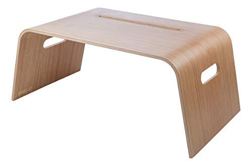 WOOD U? Tableta de madera para iPad, portátil, mesa portátil, portátil, mesa de portátil, mesa de cama, sofá soporte