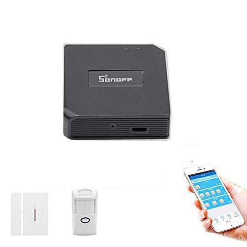 3 in 1 Kits:Sonoff RF Bridge WiFi 433Mhz + PIR2