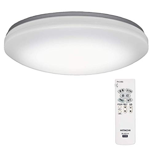 【Amazon.co.jp限定】日立 LED シーリングライト 調光 調色 ~8畳 本体日本製 コンパクトタイプ LEC-AH08RAZ