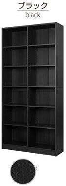 本棚 おしゃれ 大容量 カラーボックス 漫画 木製 コミックラック 書棚 ェルフ a4 スリム ブラック
