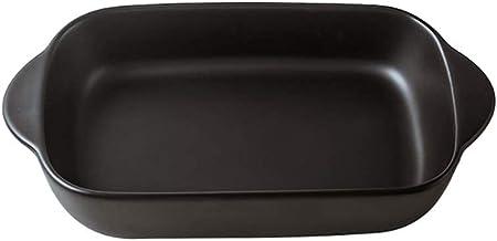 GPWDSN Non-Stick keramische ovenschaal, Binaural Non-Stick keramische ovenschaal, kaas gebakken rijstschotel servies fruit...