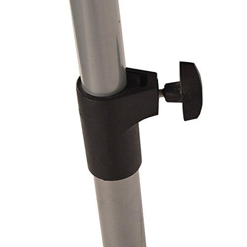 DRULINE Infrarot Heizstrahler Standheizer Terassen Strahler Fernbedienung Modell 1 – m. Thermostat - 4