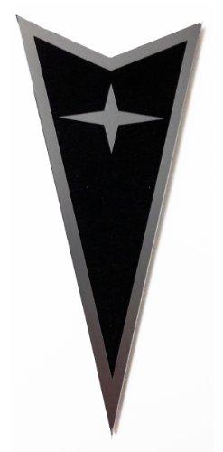 Pontiac GTO 04-06 Rear Badge Emblem Star Black