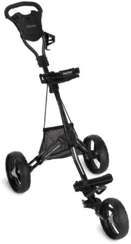 Bag Boy Express DLX Push Cart, Matte Black by Bag Boy