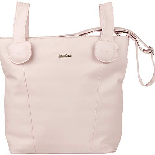 Tuc Tuc Brioche - Bolso panera y cambiador de polipiel, color rosa